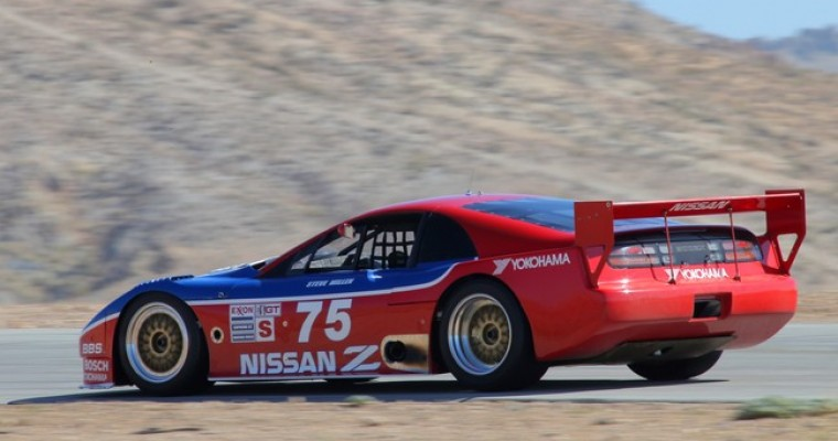 Nissan Takes Featured Spot at Rolex Monterey Motorsports Reunion