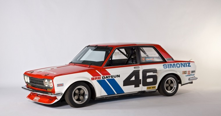 Nissan Brings the Classics to 2018 Rolex Monterey Motorsports Reunion