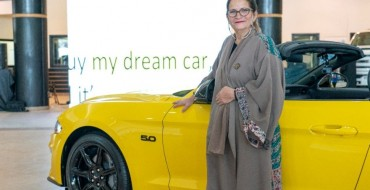 A Dream Fulfilled: Saudi Woman Receives 2018 Ford Mustang GT Convertible After 20 Years of Pining