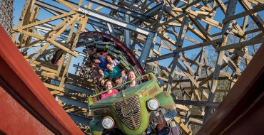 Twisted Timbers Draws Inspiration from Classic Pickup Trucks for Its Ride Vehicles