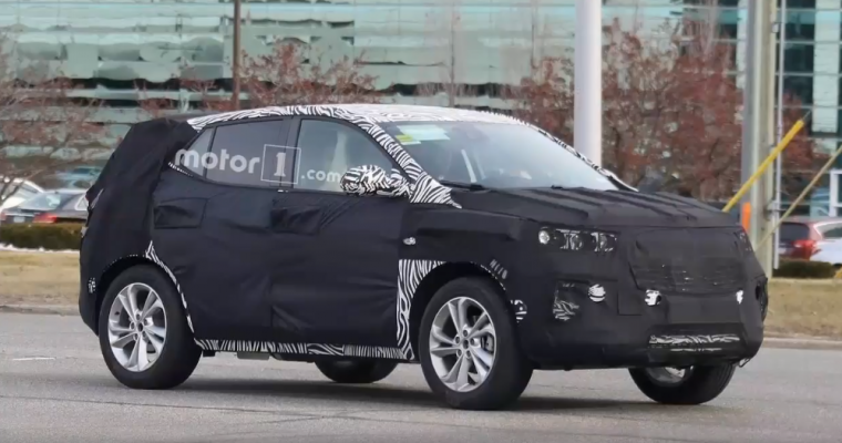 Spy Shots: 2020 Buick Encore