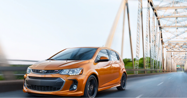 Chevrolet Sonic Wins J.D. Power's Most Dependable Model for the Small Car Segment