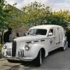 Vintage Cadillac Carries Aretha Franklin's Casket
