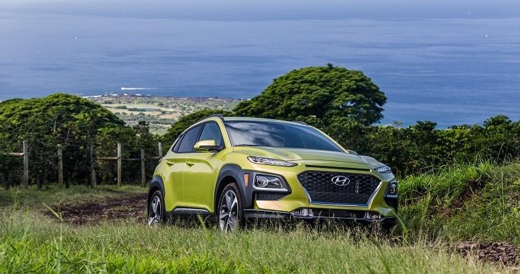 Hyundai Kona Tops J.D. Power Tech Rankings