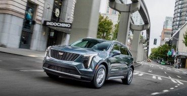 Cadillac XT4 Ranks High with Owners in JD Power 2019 Vehicle Tech Experience Study
