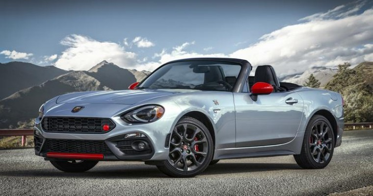 New Options Revealed for 2019 Fiat 124 Spider