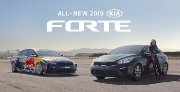 Marketing Campaign for 2019 Kia Forte Features Pro Race Car Driver Collette Davis
