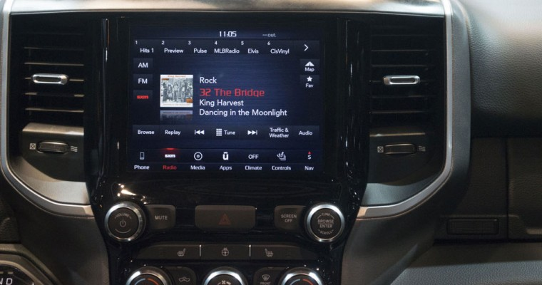WardsAuto Names 2019 Ram 1500 to its 10 Best User Experience List
