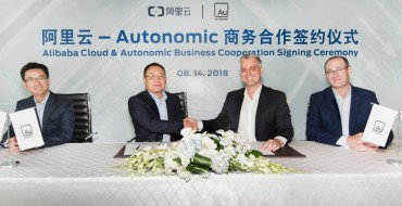 Autonomic, Alibaba to Develop Transportation Mobility Cloud