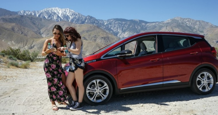 The Chevrolet Bolt Begins its Journey to Brazil