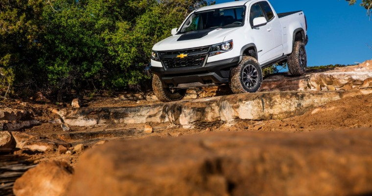 2019 Chevy Colorado Sales on the Rise in the U.S.