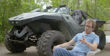 """""""Halo"""" Fan Recreates the Iconic Warthog Vehicle from the Game"""