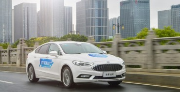 Ford Demonstrates C-V2X Technology Publicly in China