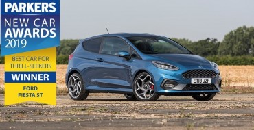 Ford Fiesta ST Tops All Competitors in Parkers New Car Awards 2019