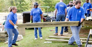More Than 10K Volunteers Participating in Ford Global Caring Month