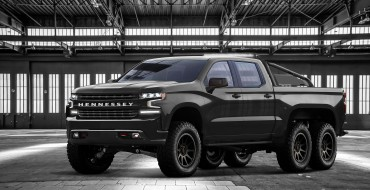 Hennessey's Goliath 6×6 Is a Pumped-Up Silverado