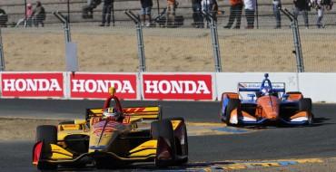 Dixon & Honda Claim IndyCar Titles in Sonoma
