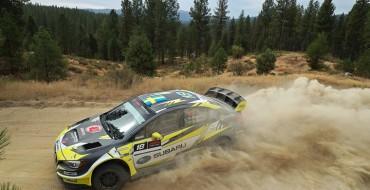 Subaru's Patrik Sandell Wins 2018 Idaho Rally International