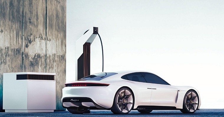 Porsche's Electric Pit Stop Charges Your Car in 20 Minutes