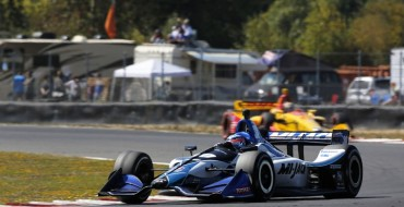 Sato Heads Honda Podium Sweep in Portland