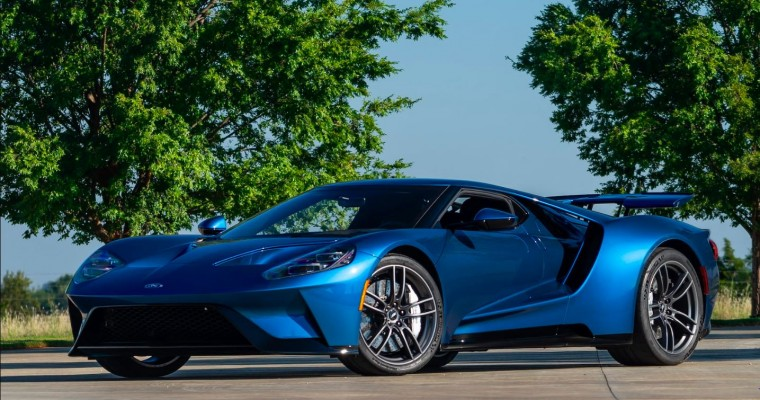 John Cena's Ford GT Not Being Auctioned Off for a Change