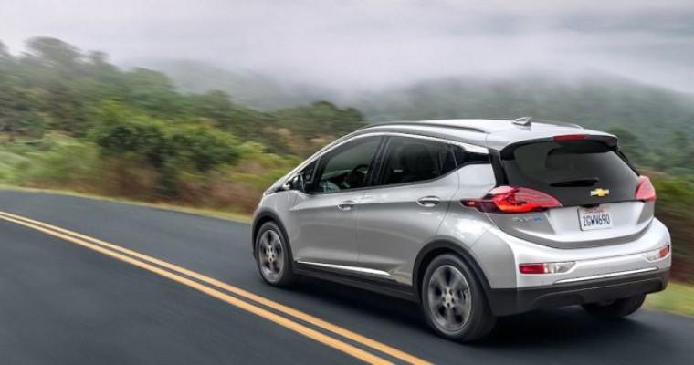 Chevy Bolt EV Gets Extended Range for 2020 Model Year