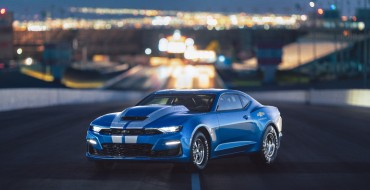 Chevy Celebrates 50 Years of COPO Camaros at SEMA