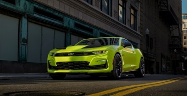 "2019 Chevrolet Camaro Receives New ""Shock"" Yellow Exterior Color"