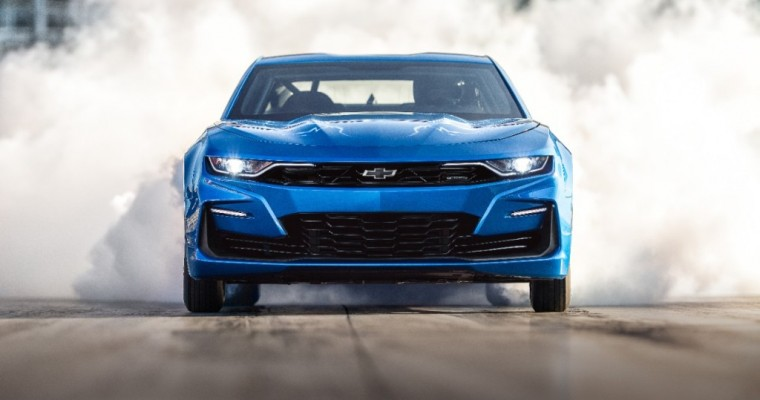 Electrified COPO Camaro Goes to Auction in Monterey