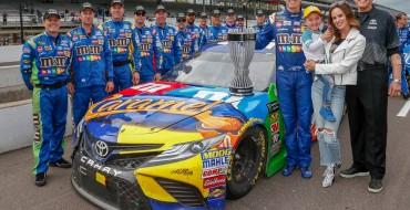 Camry Driver Kyle Busch Claims 2018 MENCS Regular Season Crown