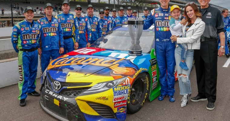 Camry Driver Kyle Busch Claims 2018 MENCS Regular Season Crown