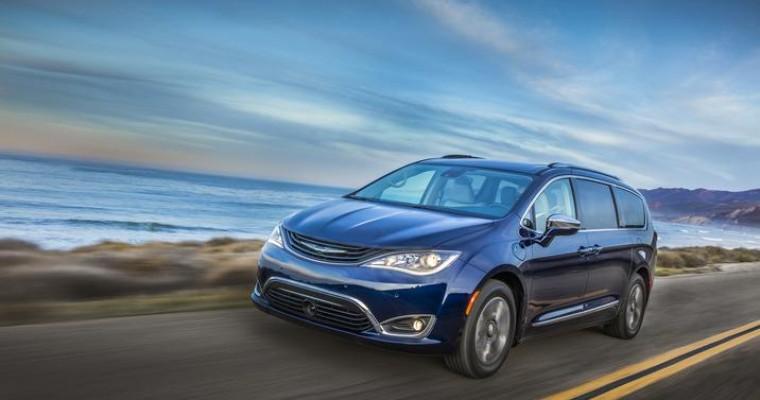 Greater Atlanta Automotive Media Association Names Chrysler Pacifica Hybrid Best Family Car