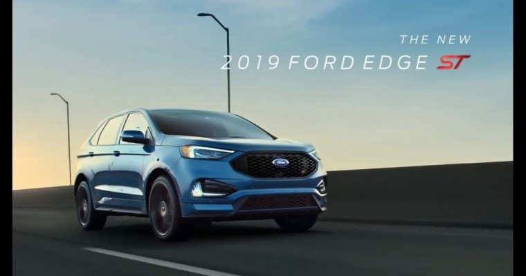 2019 Ford Edge ST Commercials Spotlight Co-Pilot360, Practicality and Performance