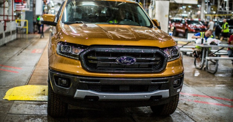 Ford Ranger Production Kicks Off at Michigan Assembly