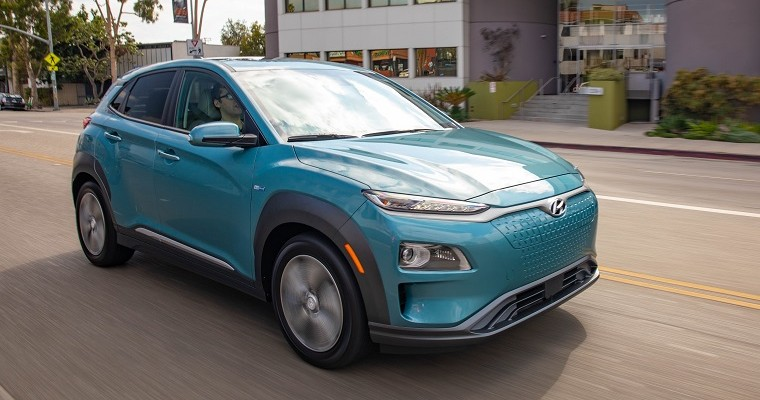 2019 Hyundai Kona Electric Named Edmunds Editors' Choice for Best EV