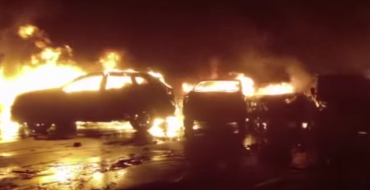 Hundreds of Maserati Cars Destroyed in Fire in Italy