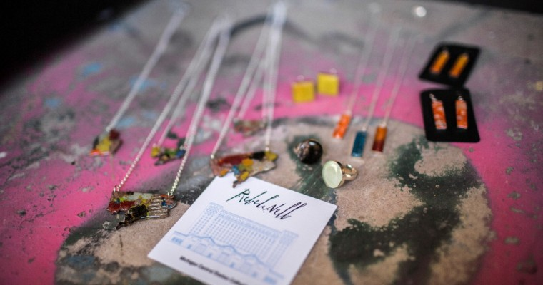 Michigan Central Station Collection Honors Graffiti Artists with Unique Jewelry