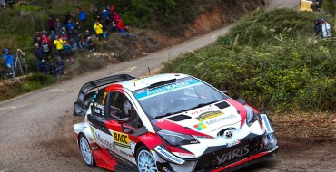 Toyota Stays in the Lead Ahead of Final WRC Round