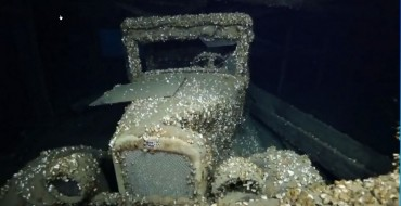 Searchers Find Classic 1927 Chevy in Lake Huron Shipwreck