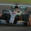 Lewis Hamilton Takes Pole in Abu Dhabi