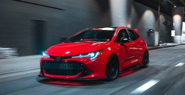 Toyota Corolla Hatchback Gets 'Super Street' Makeover for SEMA