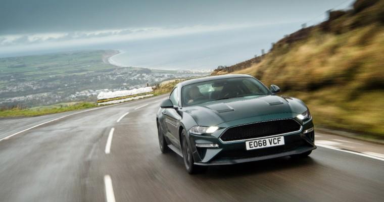 Ford Unleashes Mustang Bullitt on Isle of Man Mountain Road