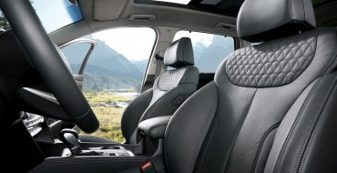 2019 Hyundai Santa Fe Honored with Spot on Wards 10 Best Interiors List