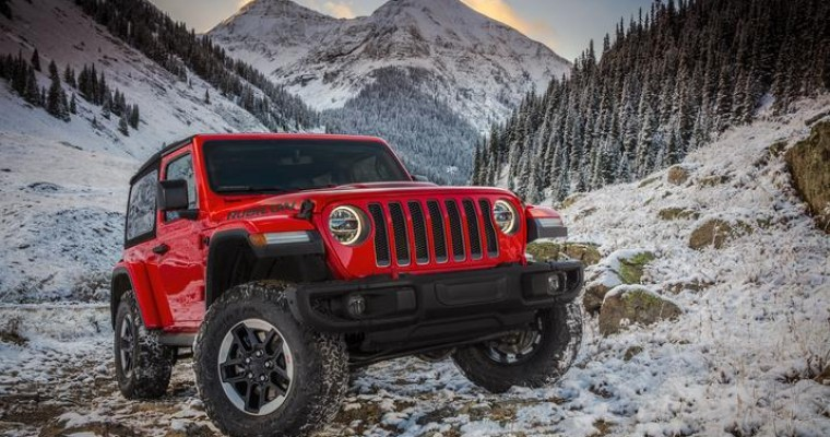 Jeep Celebrates Its Best Sales Year on Record in 2018