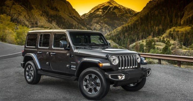 2019 Jeep Wrangler Takes Home Title of Best Value in America From 2019 Vincentric Awards