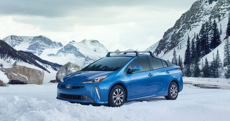 2019 Prius Launches with New AWD-e System
