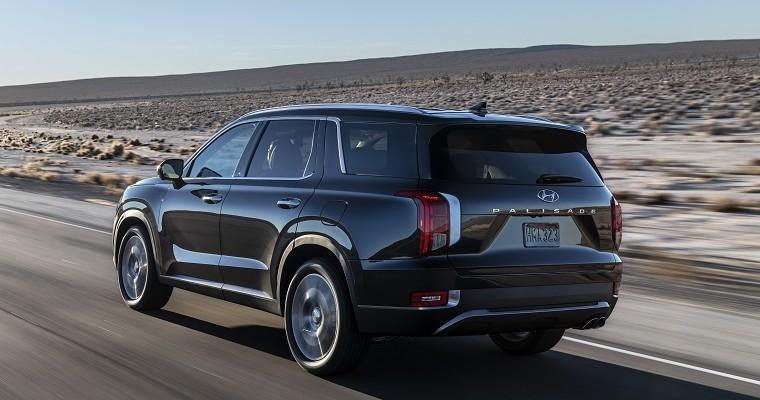 New Hyundai Palisade Wins IIHS Top Safety Pick+ Rating
