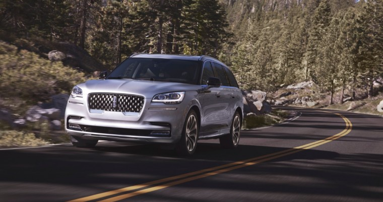 2020 Lincoln Aviator Grand Touring Makes 600 lb-ft of Torque