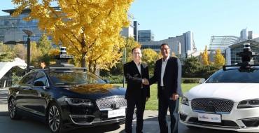 Baidu-Ford L4 Autonomous Vehicle Test Project Announced
