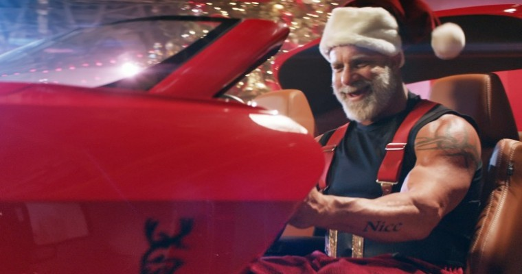 """Santa Gets """"Swole"""" in Dodge's Latest Holiday Commercials"""